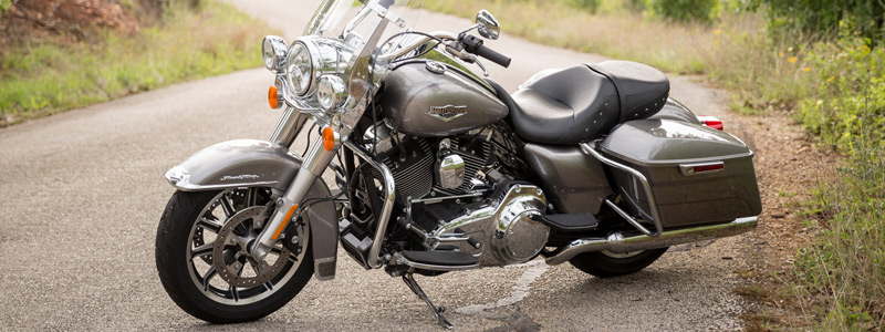 Обои мотоциклы Harley-Davidson Touring Road King - 2016 - Обои мотоциклы
