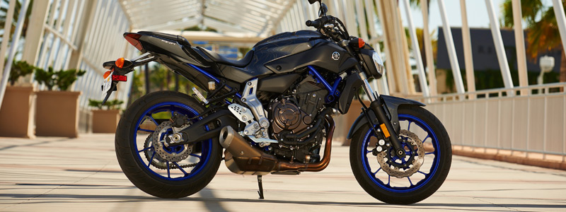 Обои мотоциклы Yamaha FZ-07 - 2015 - Car wallpapers